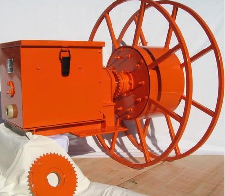 弹簧式电缆卷筒