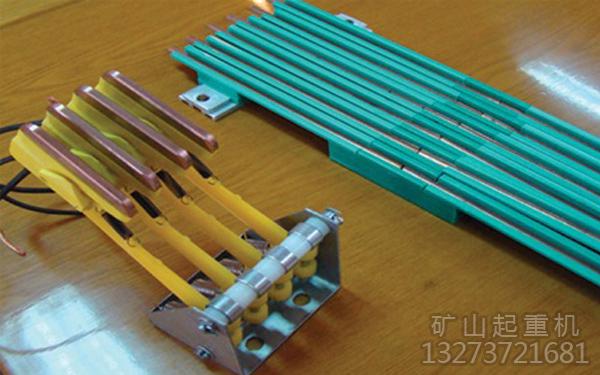 桥式起重机滑触线和集电器接触不良会导致打火花